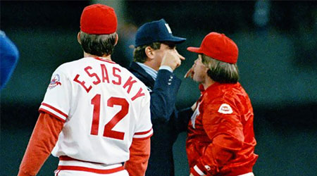 The Famous Dave Pallone/Pete Rose Altercation